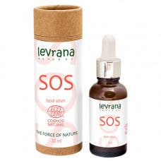 Сыворотка для лица  SOS   противовоспалительная   30ml Levrana